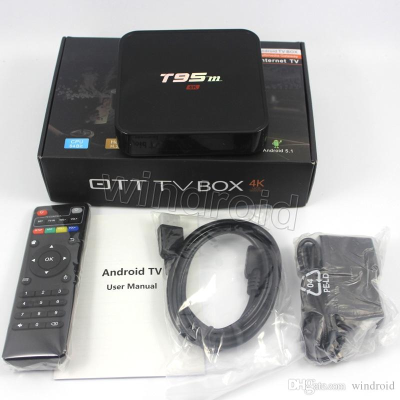 Android TV Box T95M 4K Ram 2GB